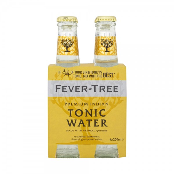 Fever-Tree Tonic Water 4X20Cl