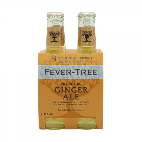 Fever-Tree Ginger Ale 4X20Cl