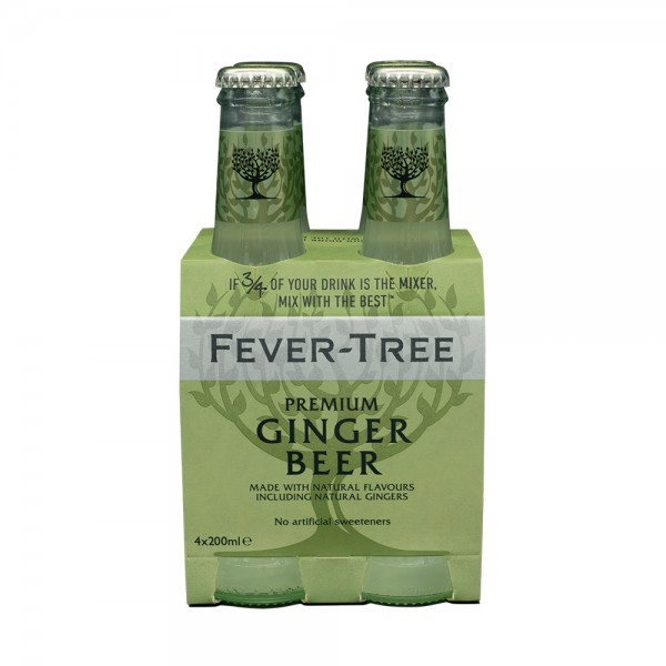 Fever-Tree Ginger Beer 4X20Cl