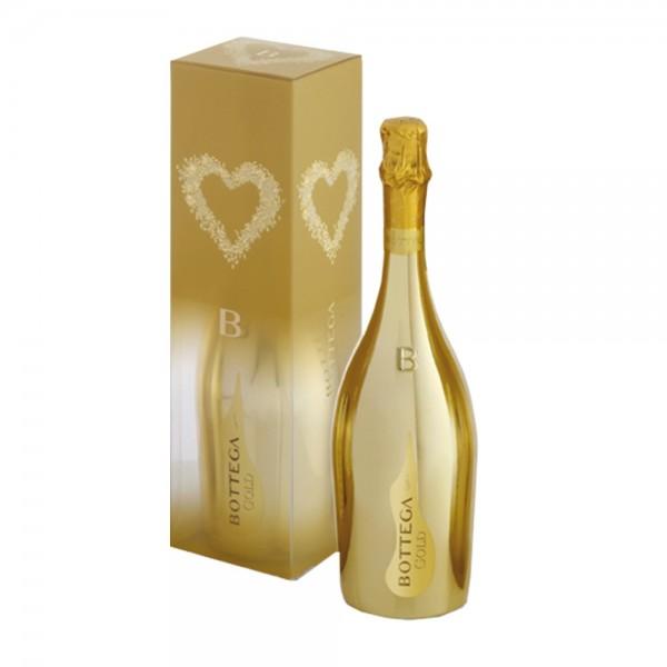 Bottega Gold Prosecco In Gift Box 75Cl
