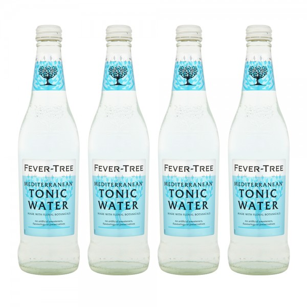 Fever-Tree Mediterranean Tonic Water 4X20Cl