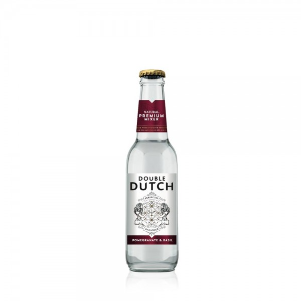 Double Dutch Pomegranate & Basil Mixer 20Cl