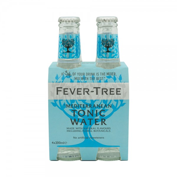 Fever-Tree Mediterranean Tonic Water 4X20Cl