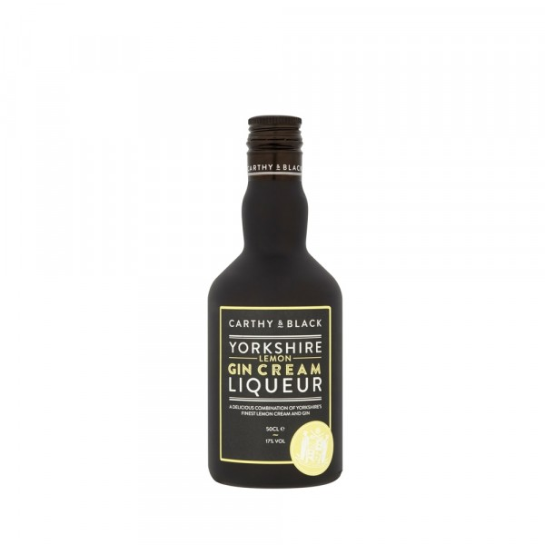 Carthy & Black Yorkshire Lemon Gin Cream Liqueur 50cl
