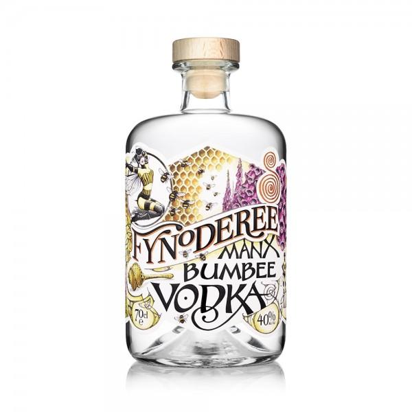 Fynoderee Manx Bumbee Vodka 70cl
